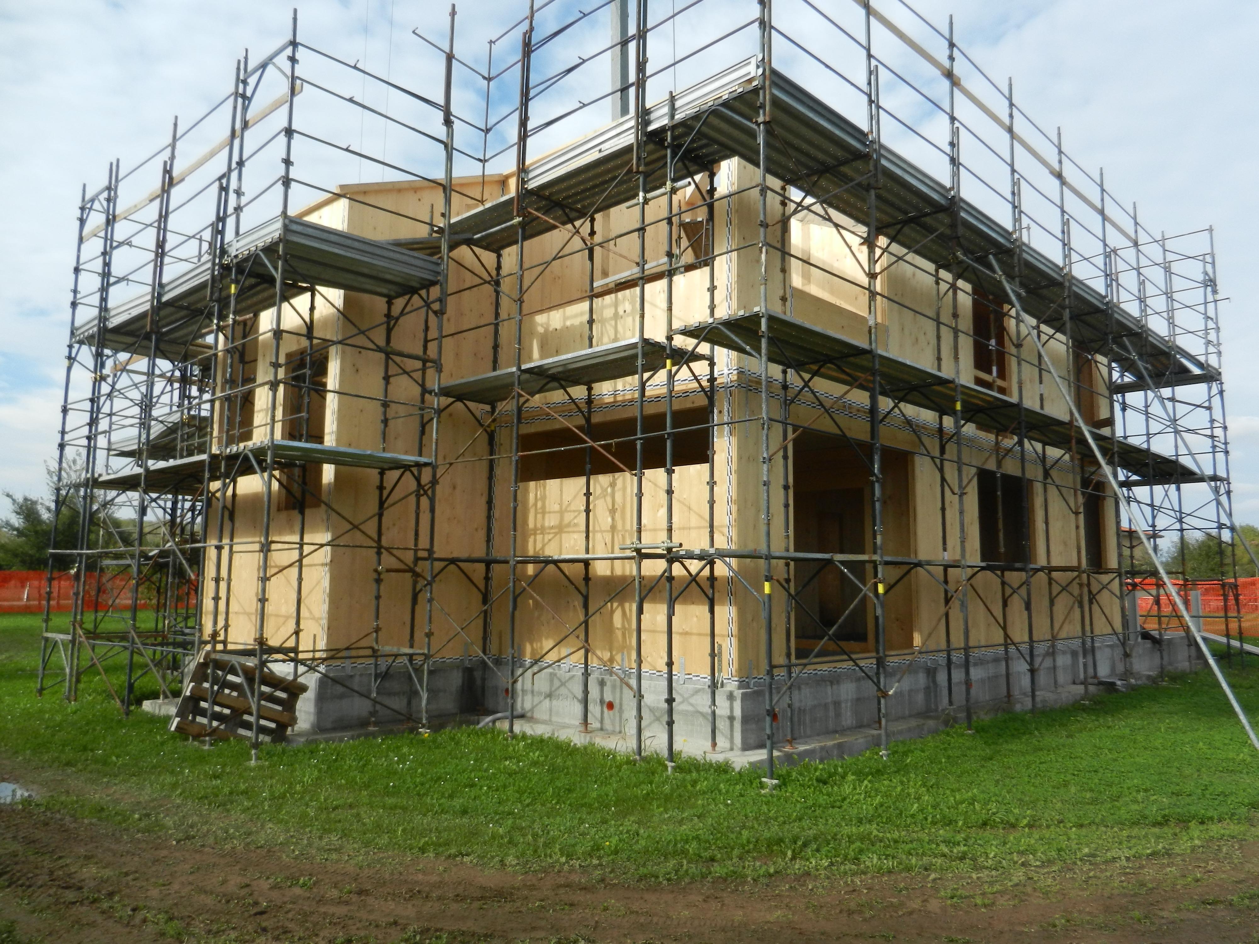 Casa a due piani in x lam gp edilizia for Piani casa com